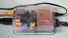 Raspberry Pi with barometric pressure sensor BMP085 and 1-wire GPIO interface
